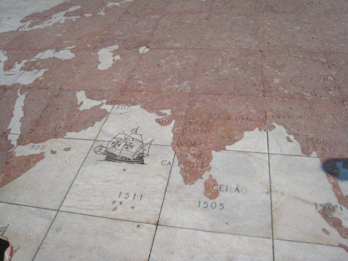 Mosaik am Boden